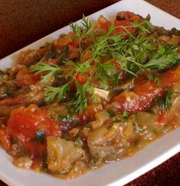 cuisine marocaine aubergine