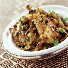 Poulet à la Marocaine Pollo Je cuisine donc je suis